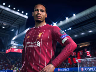 Virgil van Dijk In FIFA 20 wallpaper