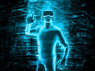Virtual Reality Technology wallpaper
