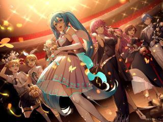 Vocaloid Girl Group wallpaper
