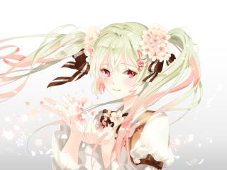 vocaloid, hatsune miku, anime wallpaper