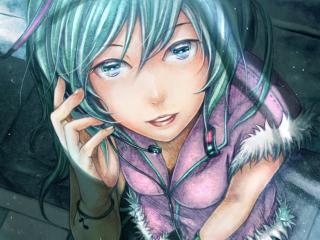 vocaloid, hatsune miku, girl wallpaper