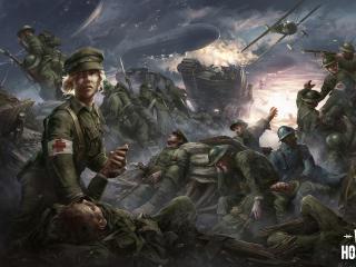 War Hospital 2021 Game Poster wallpaper
