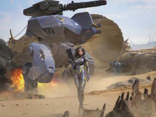War Robots Poster wallpaper