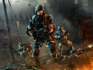 Warface Crytek Kiev wallpaper