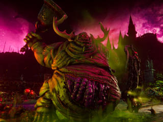 Warhammer 40K Chaos Gate Daemonhunters 4K wallpaper