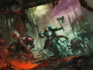 Warhammer 40K Concept Art wallpaper