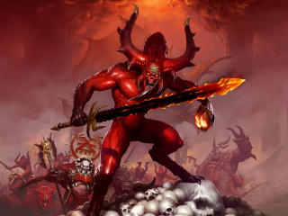 Warhammer Demon wallpaper
