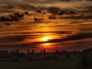 Warm HD Sunset Photography 2021 wallpaper