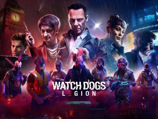 Watch Dogs Legion Poster 8K wallpaper