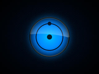 Watchmen HBO Dr Manhattan Logo wallpaper