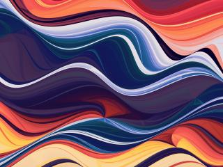 Wave Of Abstract Colors wallpaper