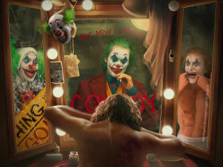 We Are All Clowns Joker Art wallpaper