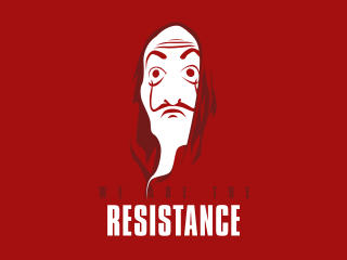 We Are The Resistance wallpaper