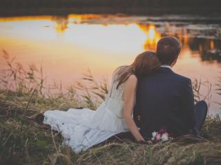 HD Wallpaper | Background Image wedding, newlyweds, couple