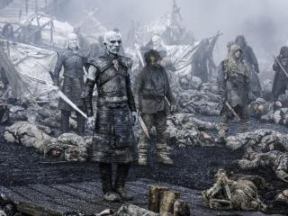 White Walkers King Game Of Thrones wallpaper