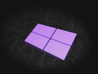 Windows 10 3D Logo wallpaper