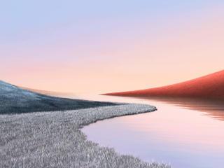 Windows 10 Artistic Landscape 4k wallpaper