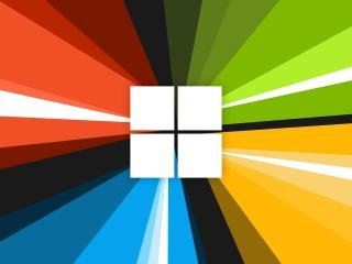 Windows 10 Colorful Background Logo wallpaper