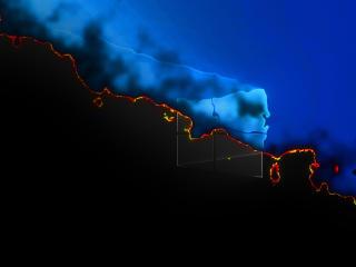 Windows 11 Burning Logo 4K wallpaper