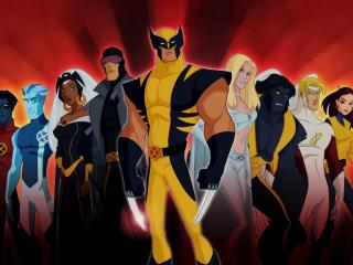 Wolverine and the X-Men Team wallpaper