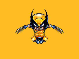 Wolverine Minimal wallpaper