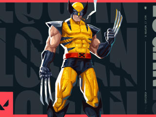 Wolverine Valorant wallpaper