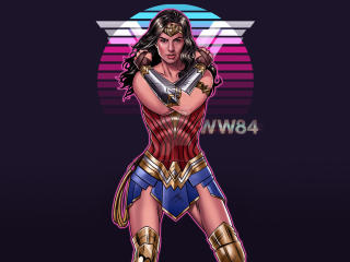Wonder Woman 1984 Artwork wallpaper