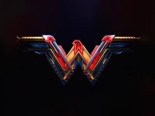 Wonder Woman 4k Cool Logo wallpaper