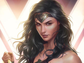 Wonder Woman DC 4K wallpaper
