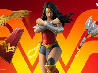 Wonder Woman Fortnite Chapter 2 wallpaper