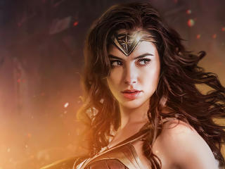 Wonder Woman Gal Gadot Face wallpaper