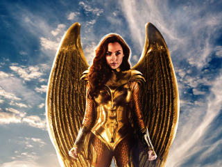 Wonder Woman Golden Eagle Armor wallpaper