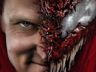 Woody Harrelson as Carnage in Venom Movie wallpaper
