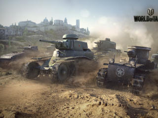 world of tanks, t1, renault ft wallpaper