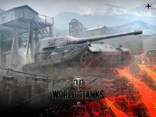 world of tanks, wargaming net, wot wallpaper