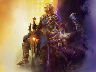 World of Warcraft Battle for Azeroth Game wallpaper