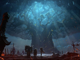 World of Warcraft Battle for Azeroth wallpaper