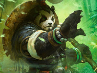 World Of Warcraft Mists Of Pandaria Art wallpaper
