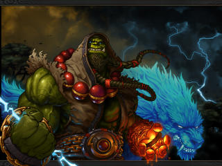 World Of Warcraft Shaman Thrall wallpaper