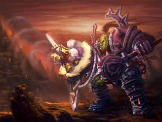 world of warcraft, wow, orc wallpaper