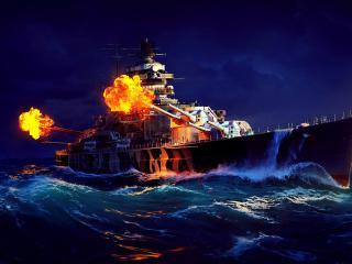 World of Warships Naval Ship wallpaper