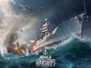 World Of Warships Ship Explosion wallpaper