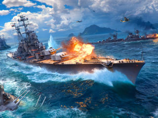 World Of Warships Ship wallpaper