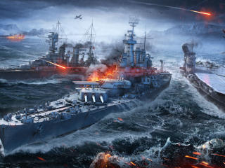 World Of Warships Ships wallpaper