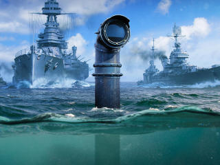 World of Warships Submarine wallpaper