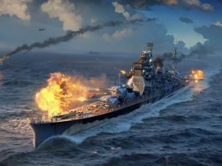 World Of Warships (WOWS) wallpaper