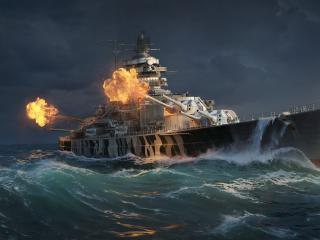 WOWS Game Ship wallpaper