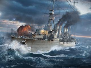 WOWS World Of Warships Ship wallpaper