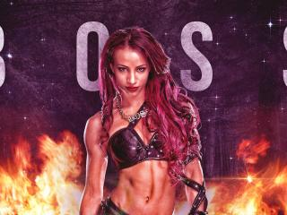 WWE Sasha Banks The BOSS wallpaper