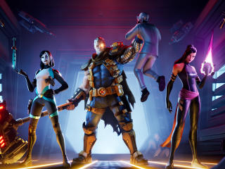X-Force Fortnite wallpaper